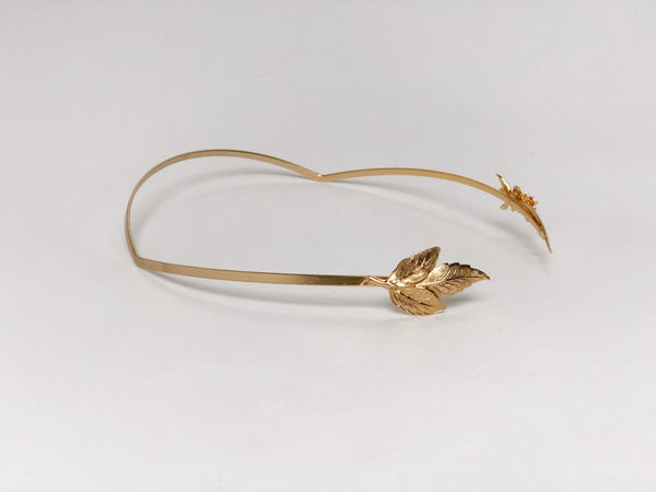 One of a kind Asymmetrical Butterfly Goddess Headband