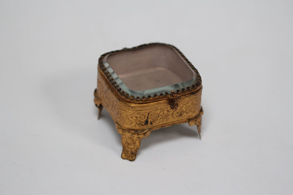 Bronze Victorian Jewelry Box