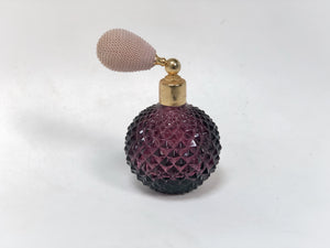Vintage Purple Perfume Bottle