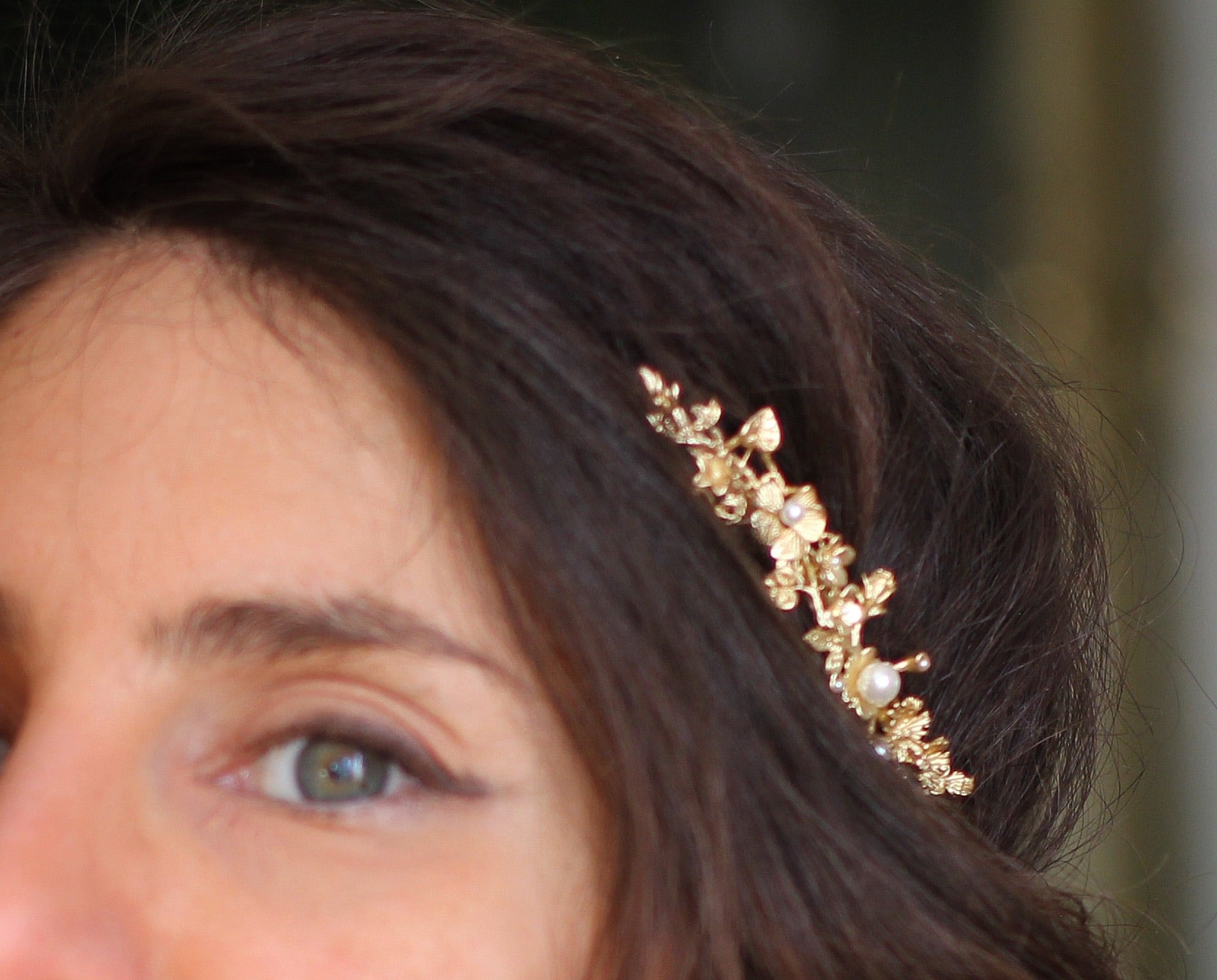 Spring Bloom Floral Goddess Crown