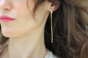 Aerin Crystals Chains Earrings