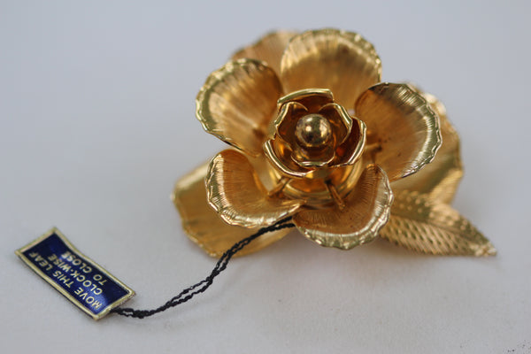 Large Rose Brooch