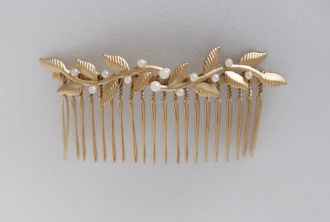 Twigs and Pearls Hair Comb - Discounted Version