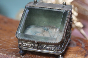 Tafted French Victorian Jewelry Box