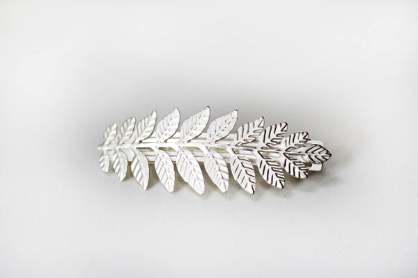 Athena Leaf Barrette- discounted version