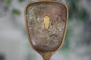 Antique Distressed Hand Mirror