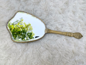 Antique Sunflowers Hand Mirror