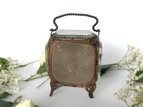 Antique French Victorian Watch display case