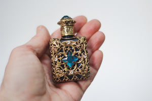 Copy Blue Crystals Perfume Bottle