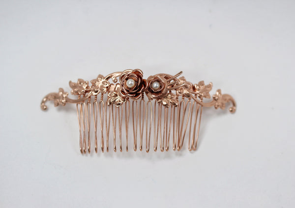 Blooming Ivy Hair Comb