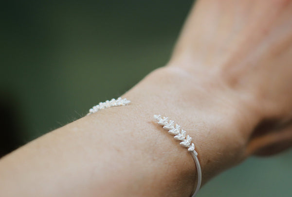 Stems and pearls bracelet- Discounted Version