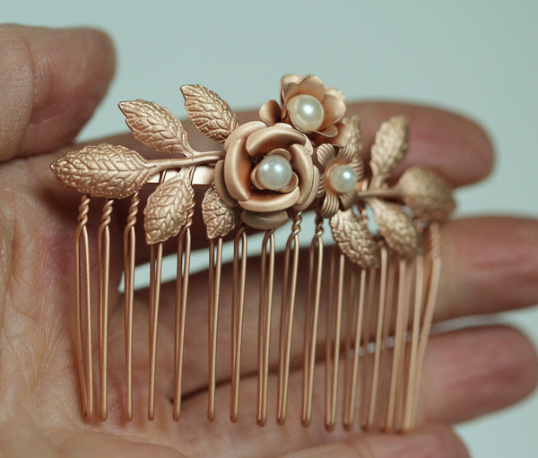 Blooming flower Hair Comb- discounted version