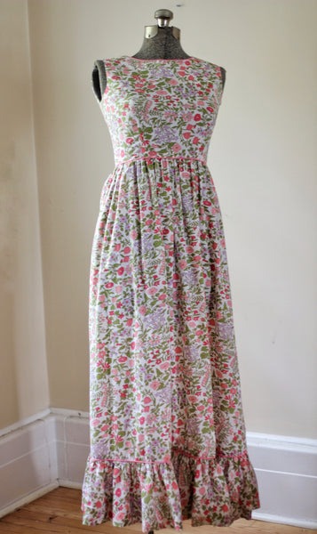 Vintage 60's Serbian By Muriel Ryan Folral Dress