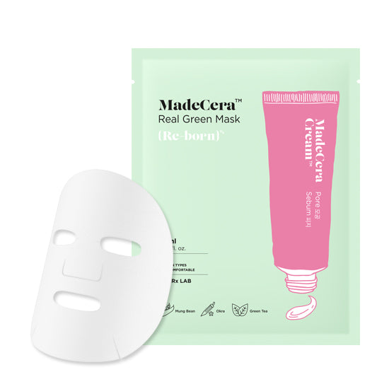 SKINRx Lab Real Green Sheet Mask (Pore Sebum)