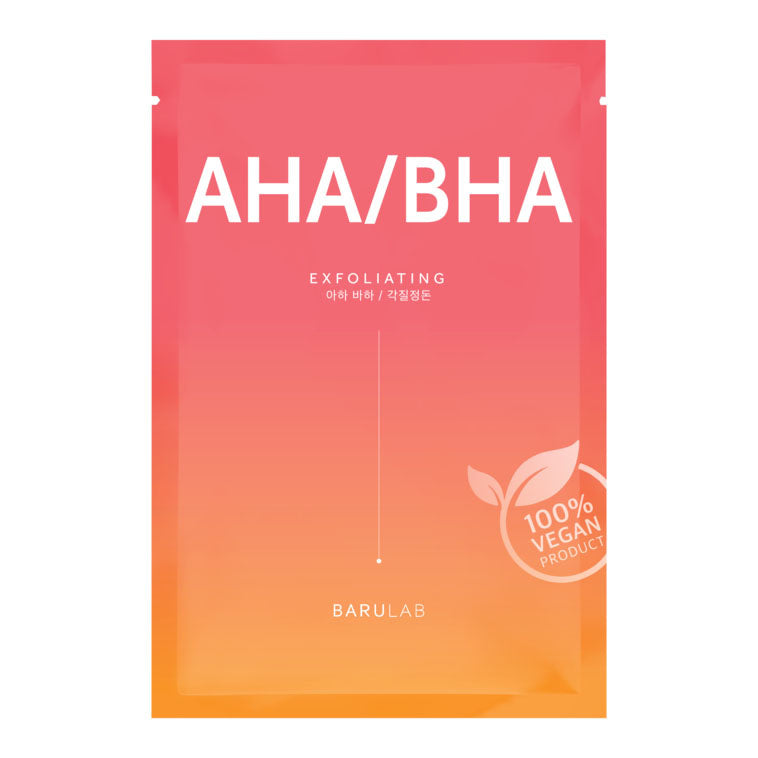 Barulab The Clean Vegan AHA/BHA Sheet Mask
