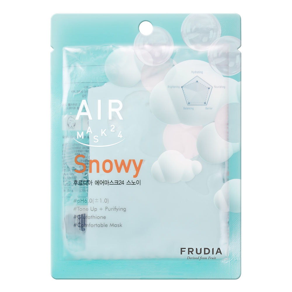 Frudia Air Sheet Mask 24 Snowy