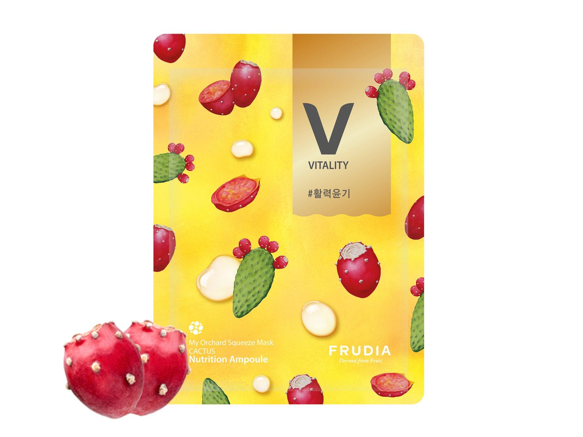 Frudia My Orchard Squeeze Cactus Sheet Mask
