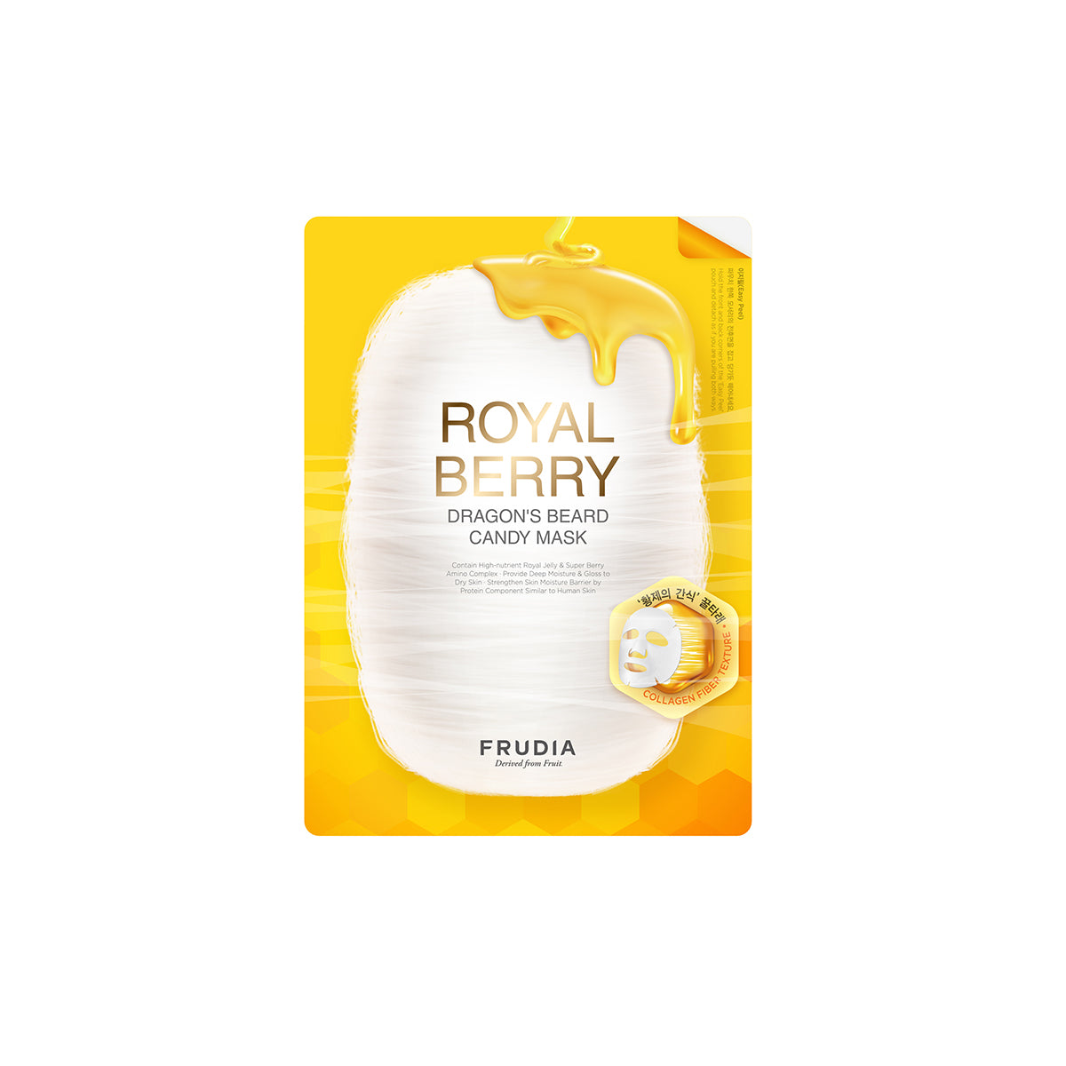Frudia Royal Berry Dragon's Beard Candy Sheet Mask