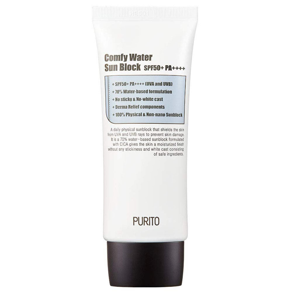 Purito Comfy Water Sun Block SPF50+ PA++++