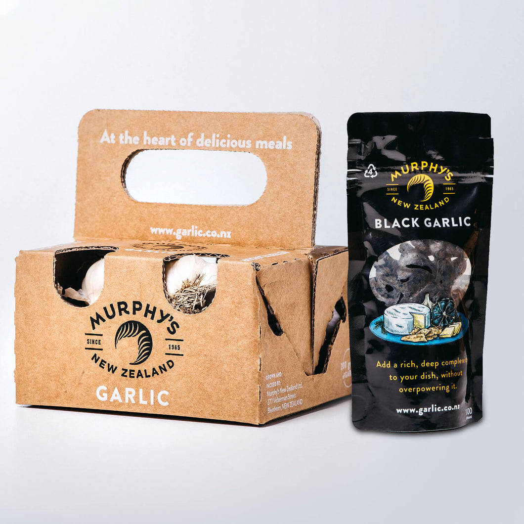 Garlic and Black Garlic Pack