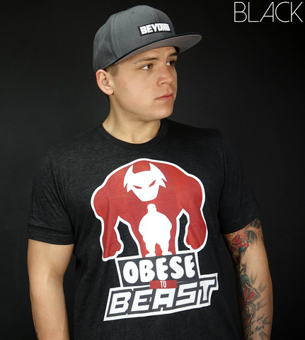 Obese to Beast TriTech T-Shirt