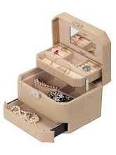 Load image into Gallery viewer, Jewelry box ARISTOCRAT SNAKE Beige