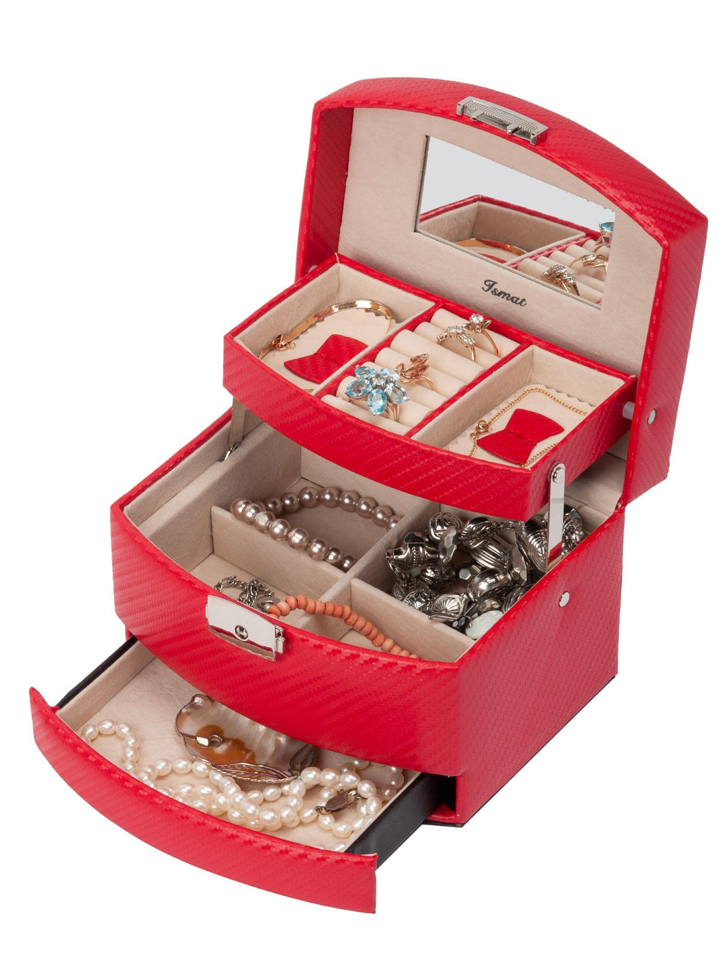 GLOSS Red Jewelry Box