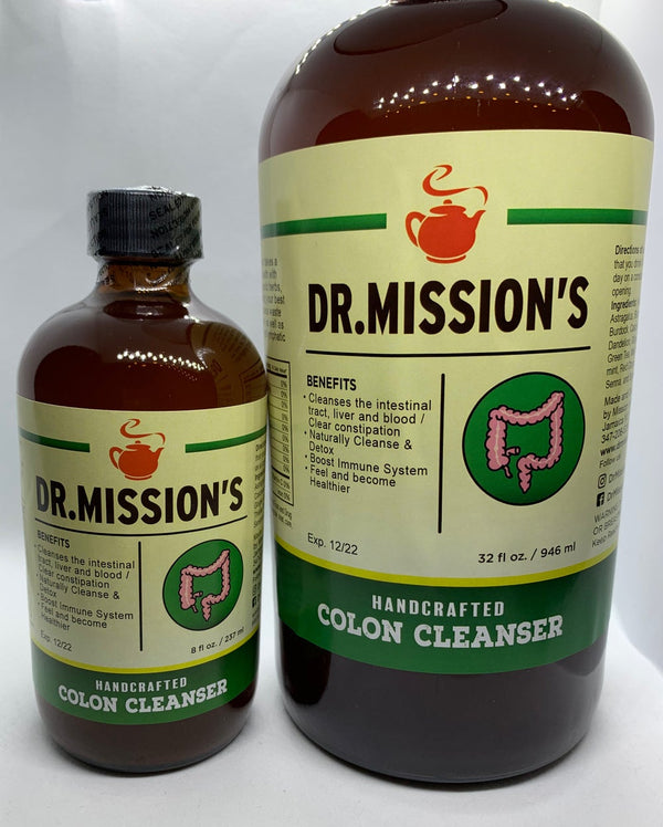 Dr. Missions Herbal Colon Cleanse (Natural Herb Digestive System Cleanser)
