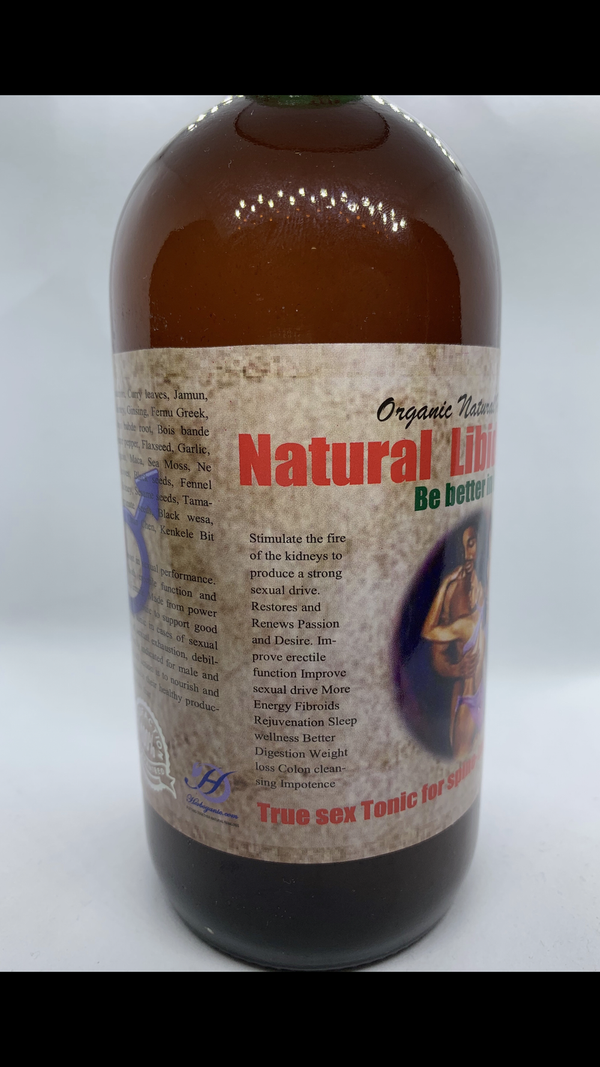 Organic Natural Herbal Libido Tonic/True Sex Tonic Spine-Tingling Satisfaction (Be Better In Bed)