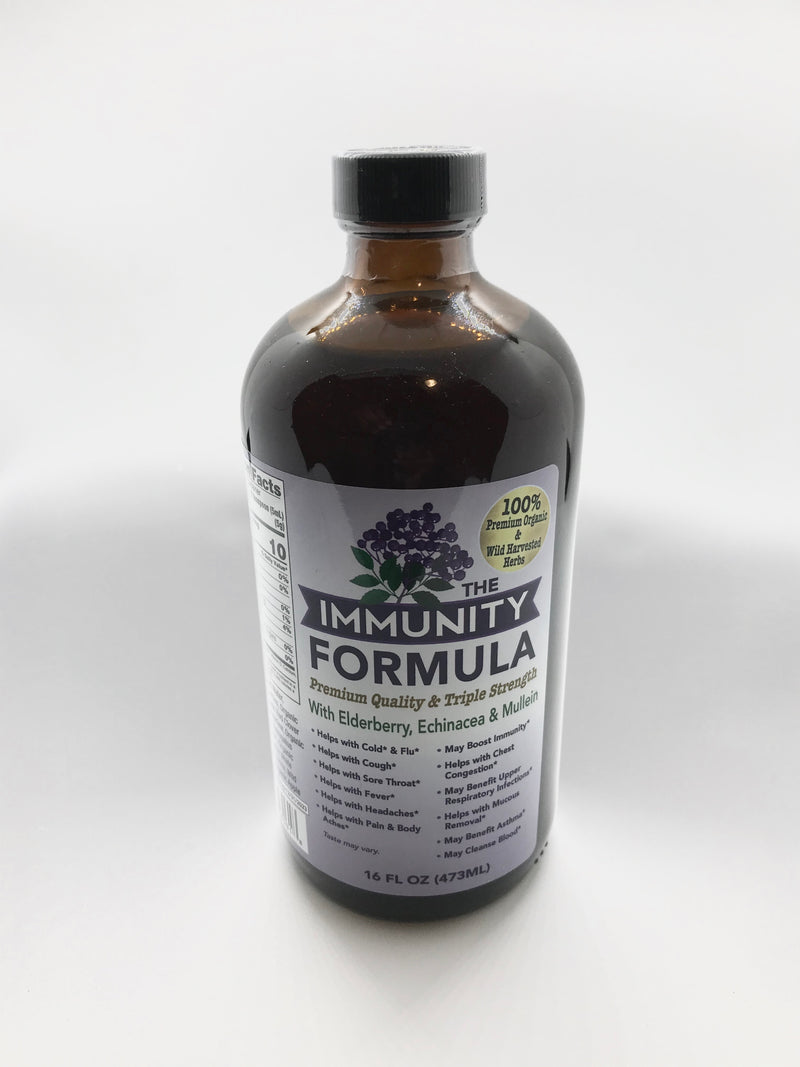 Immunity Formula (with elderberry, echinacea, & mullein) (New)