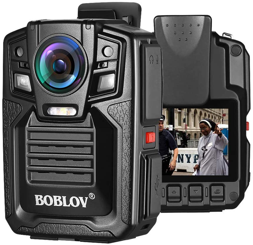 BOBLOV HD66 1296P Body Worn Camera IR Night Vision.4
