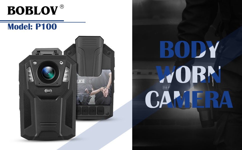 BOBLOV P100 1296P Body Mounted Camera.1