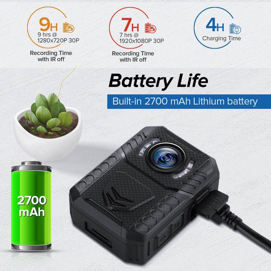 BOBLOV X3A 1080P HD Body Worn Camera.6