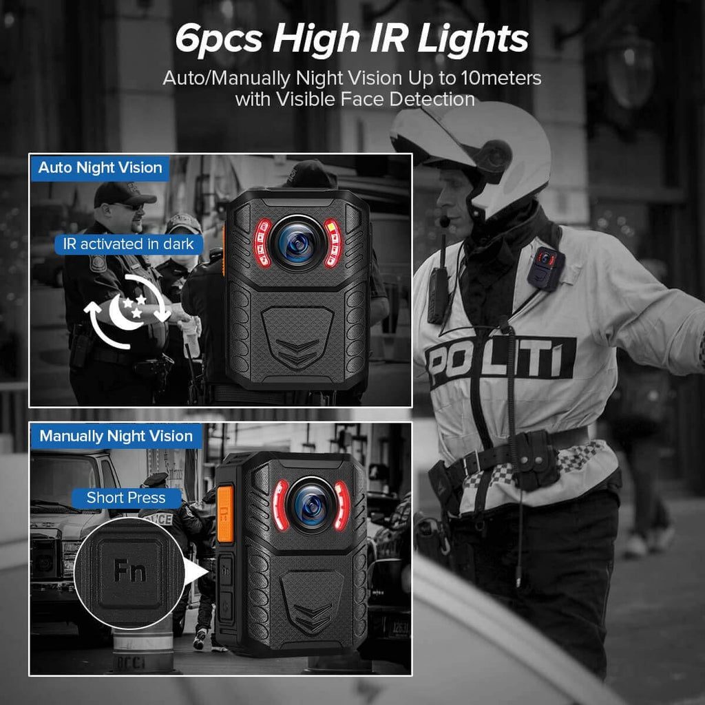 BOBLOV X3A 1080P HD Body Worn Camera.7