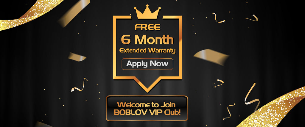Welcome to join BOBLOV VIP Club