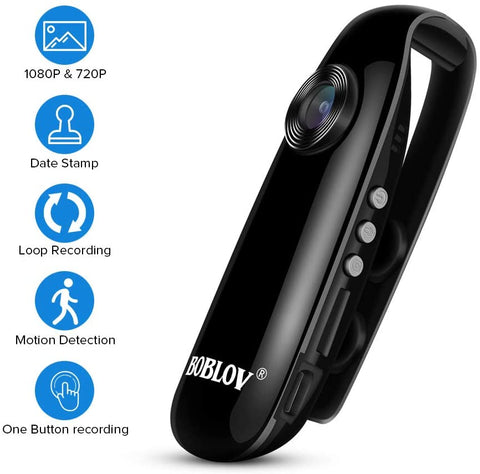 BOBLOV 1080P Mini Small Camera IDV007.1