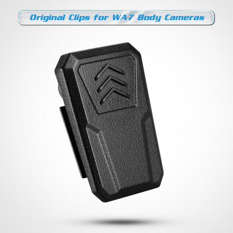 Image of BOBLOV Body Camera Clips Small Clips for WA7-D Body Camera