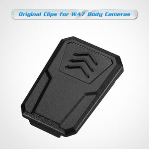 BOBLOV Body Camera Clips Small Clips for WA7-D Body Camera