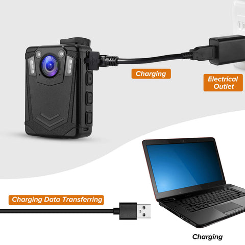 BOBLOV DMT204 Body Camera Charging