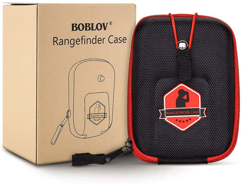 Image of BOBLOV Golf Rangefinder Case Red EVA Hard Cover Compatible with Bushnell Tectectec Nikon Callway Rangefinders