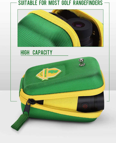 Image of BOBLOV Golf Rangefinder Case Green.2