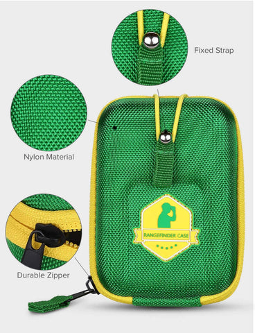 Image of BOBLOV Golf Rangefinder Case Green.3
