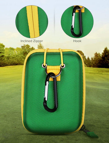 Image of BOBLOV Golf Rangefinder Case Green.4