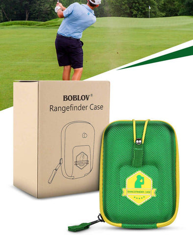 Image of BOBLOV Golf Rangefinder Case Green.9