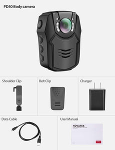 BOBLOV PD50 HD 1296P Body Worn Camera Package.7