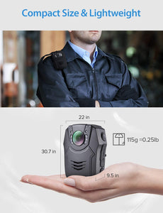 BOBLOV PD50 HD 1296P  Wearable Camera super size