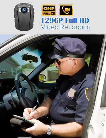 Image of BOBLOV PD70 HD 1296P Camera Wifi Body worn camera video recording