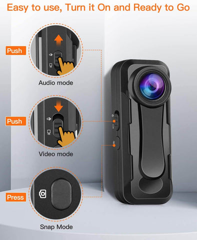 BOBLOV W1 Mini Camera Bodycam 1080p.2