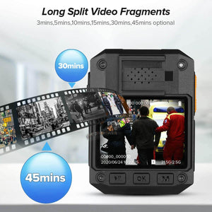 BOBLOV X3A 1080P HD Wearable Camera long split video fragments
