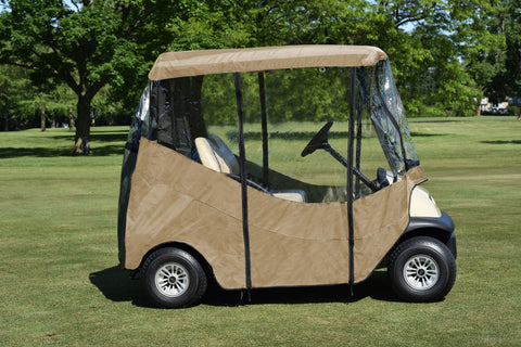 JEF World of Golf The Ultimate Universal 2-Seat Golf Car Enclosure